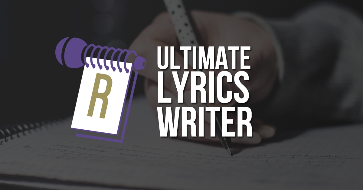 Editor - Ultimate Lyric Writer - RapPad