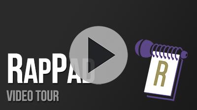 Write And Share Rap Songs Online  Rappad A New Way To Write Lyrics